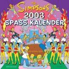 The Simpsons 2003 Spaß-Kalender (1) | Bücher | Artikeldienst Online