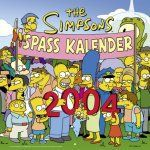 The Simpsons 2004 Spaß-Kalender (1) | Bücher | Artikeldienst Online