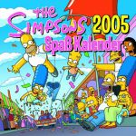 The Simpsons 2005 Spaß Kalender (1) | Bücher | Artikeldienst Online